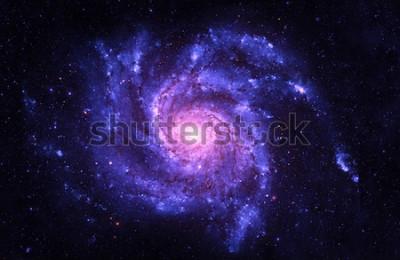 Nálepka Spirální galaxie - prvky tohoto obrazu, které poskytla NASA