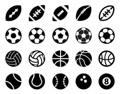 Nálepka Sportovní míče
