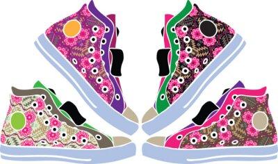 Nálepka Sportovní obuv designu