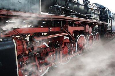 Nálepka Staré lokomotiva kola
