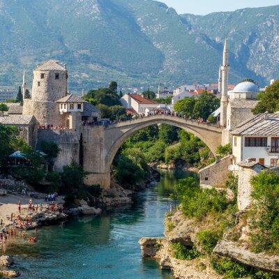 Nálepka Starý most v Mostaru