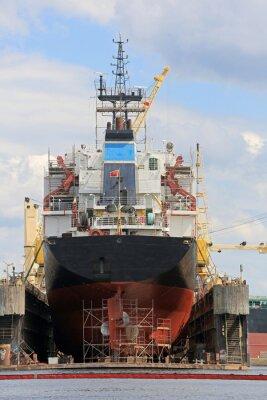 Nálepka Statek na pływającym doku
