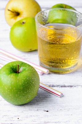 Nálepka Šťáva z zelené jablko