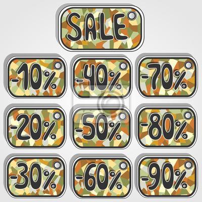 štítek s prodejem