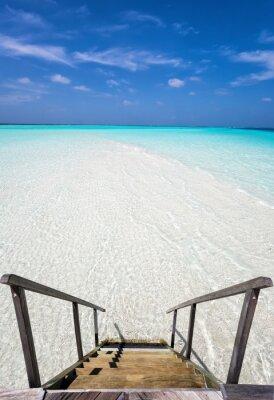Nálepka Stufen v den Ozean