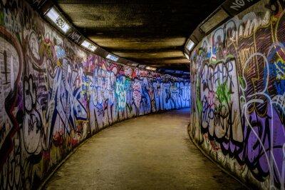 Nálepka Subway Graffiti