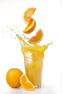 Nálepka succo d'arancia splash