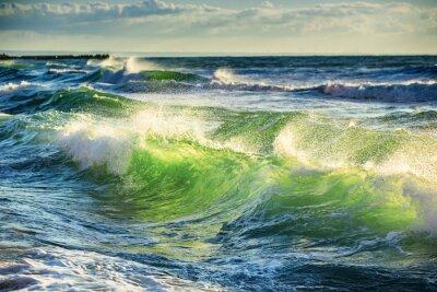 Nálepka Sunrise Wave