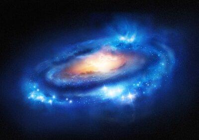 Nálepka Supermasivní Galaxy