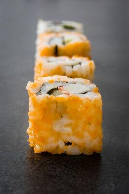 Nálepka Sushi. japonské jídlo