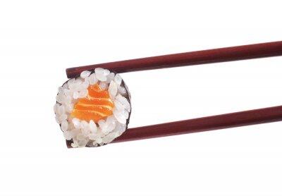 Nálepka Sushi na bílém pozadí