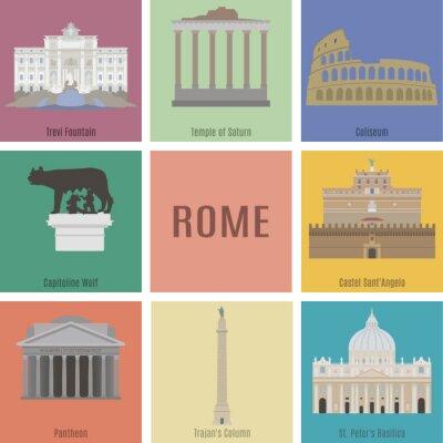 Nálepka Symbol Říma