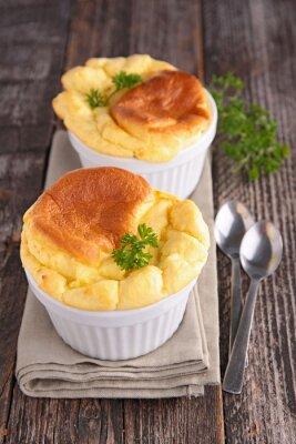 Nálepka sýr souffle