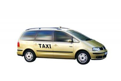 Nálepka Taxi Bus freigestellt
