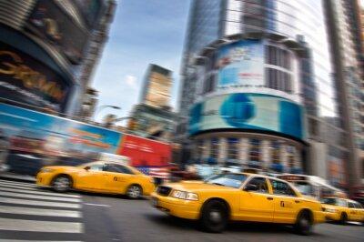 Nálepka Taxi - New York, USA