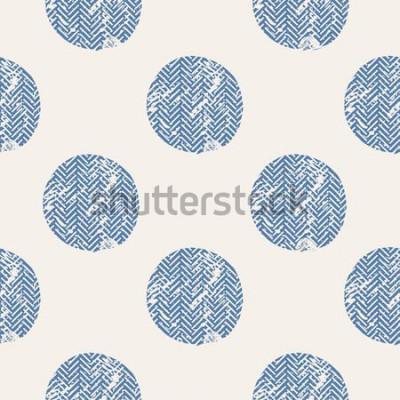 Nálepka tečky / ručně kreslenou vektorové bezešvé vzor / móda / ptáci / lze použít pro dětské nebo dětské tričko design / módní tisk design / módní grafika / tričko / děti nosí / tričko