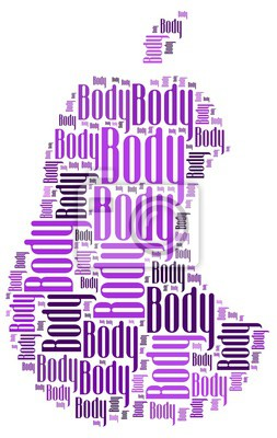 Nálepka tělo