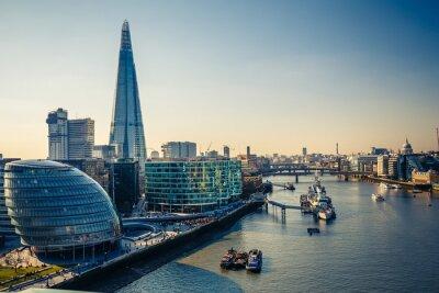 Nálepka Temže a London City