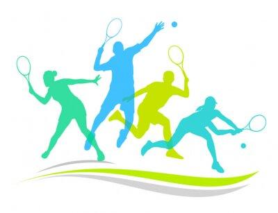Nálepka Tenis - 170