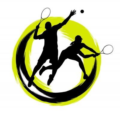 Nálepka Tenis - 204