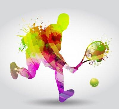 Nálepka Tenis, Competizione, torneo