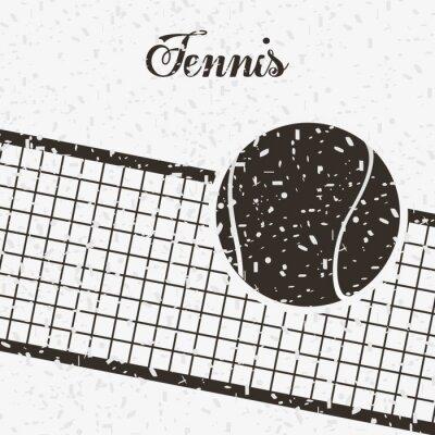Nálepka tenis sportovní design
