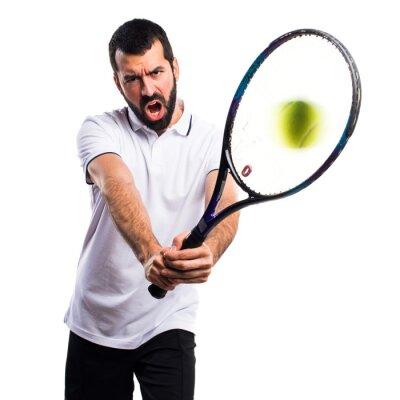 Nálepka Tenista