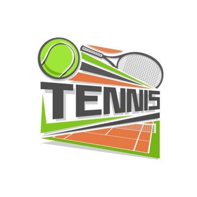 Nálepka Tennis logo