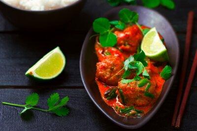 Nálepka Thai hot   curry with fish