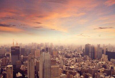 Nálepka Tokio panorama