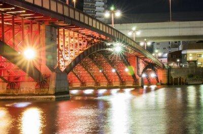 Nálepka Tokyo Night Bridge