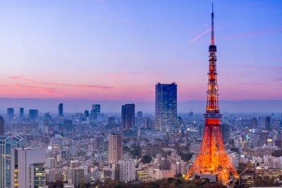 Nálepka Tokyo Tower, Tokio, Japonsko