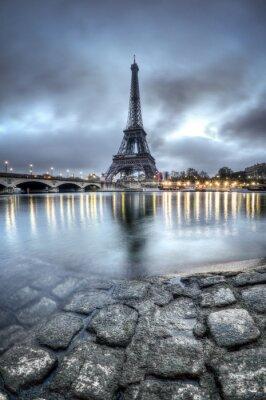 Nálepka Tour Eiffel - Paříž - Francie