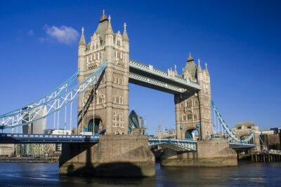 Nálepka Tower Bridge jihovýchodní pohled