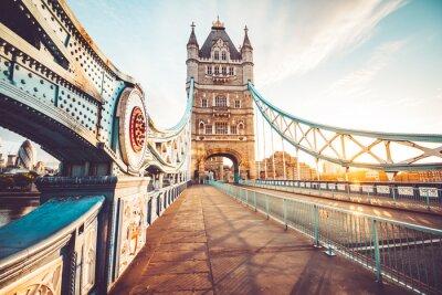 Nálepka Tower Bridge v Londýně