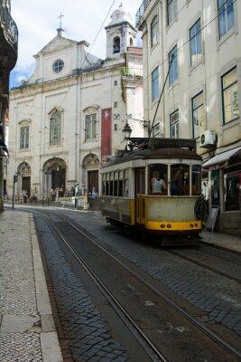 Nálepka Tramvaj - Lisbona