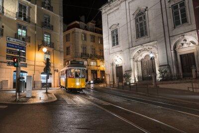 Nálepka Tramway Lisbonne Portugalsko