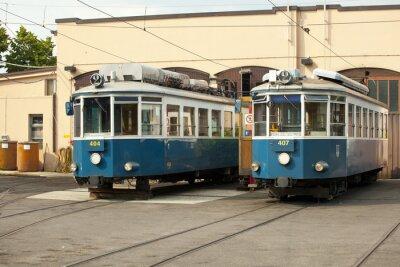 Nálepka Tranvía di Opicina, Trieste