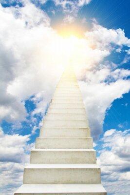 Nálepka Treppe in den Himmel
