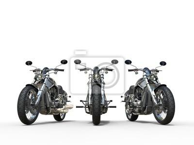 Nálepka Tři úžasné motocykly ročníku