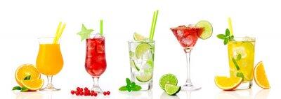 Nálepka Tropické koktejl sortiment