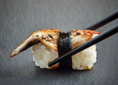 Nálepka Úhoř sushi