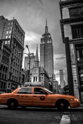 Nálepka Ulice New York City Večerní