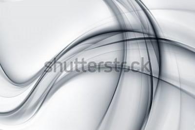 Nálepka Úžasné zářivě bílé šedé tapety abstraktní