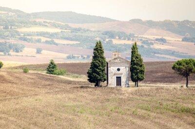 Nálepka Val d'Orcia v pozůstalosti