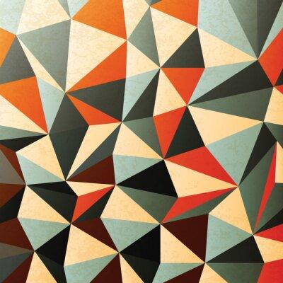 Nálepka Ve tvaru kosočtverce vzor. Abstraktní, vektor, EPS10