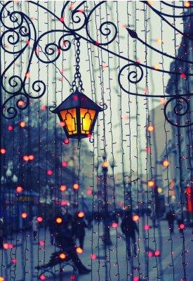 Nálepka Večer Avenue se světly