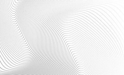 Nálepka Vector illustration of the pattern of the gray lines abstract background. EPS10.