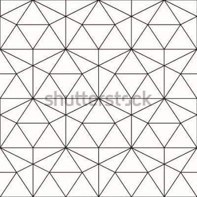 Nálepka Vektorové bezešvé vzor. Geometrické pozadí s kosočtverec a uzly. Abstraktní geometrický vzor. Šedá textura. Geometrický vzor bezešvé.