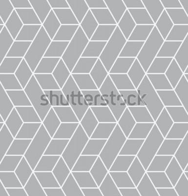 Nálepka Vektorové bezešvé vzor. Moderní stylová textura. Opakující se geometrické dlaždice s trojúhelníky.